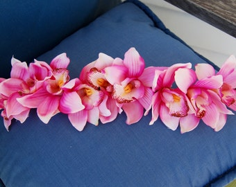 Pink Orchid Crown