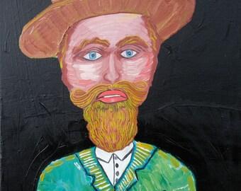 The Hillbilly (original) | Folk Art