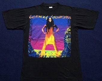 On Sale 28% Vintage Lenny Kravitz 90s Alternative Rock Grunge Concert T Shirt