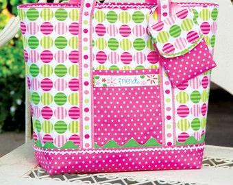 PDF Download of Reversible Tote Bag Purse DIY Sewing Pattern (#104)