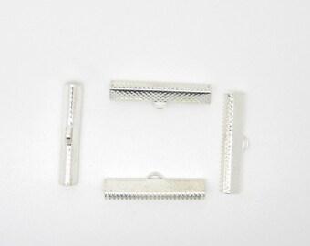 Ribbon, silver, 35 mm