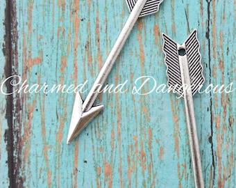 Pewter Arrow pendant (P20)