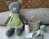 meet Nahla bear with colouring book set