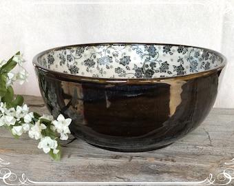 Cottage Floral Bowl