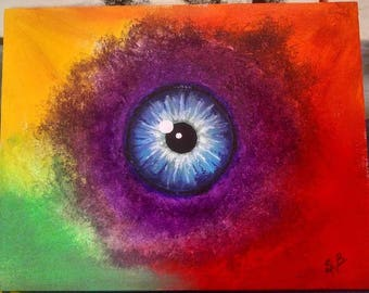 Eye See In Color Painting