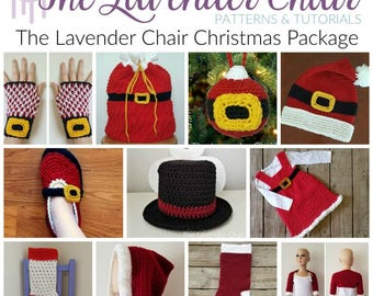 The Lavender Chair Christmas Package *PDF FILES ONLY* Instant Download