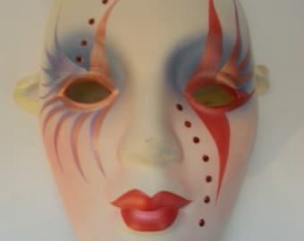 Ceramic, decorative art mask