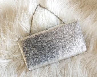 1960s Silver Harry Levine Handbag
