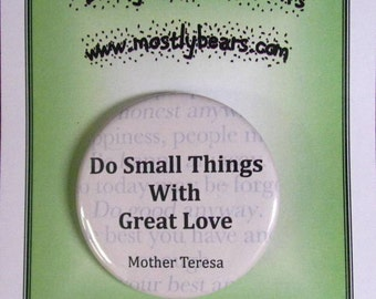 "2 1/4"" pinback button The Best Advice Ever."