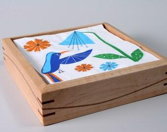 Maple Napkin Box