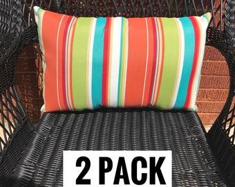 2 Pack of Covert Breeze Lumbar Pillow Water Resistant