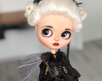 OOAK custom blythe doll -Sandra-by Darya Javnerik