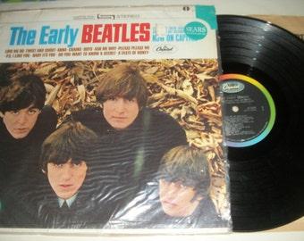 "Beatles LP ""Early Beatles"" Capitol ST-2309 Stereo (1965) 1st Press **Sears Shrink** Near Mint! Mega-Rare!"