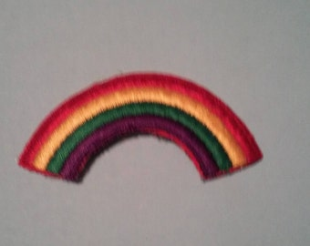Rainbow Multi Color LGBT Scouts Old School Patch - Vintage