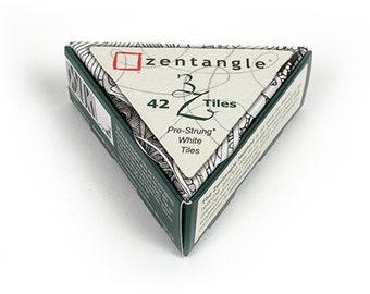 3Z Pre-Strung Tiles, Zentangle® HQ, Set of 42