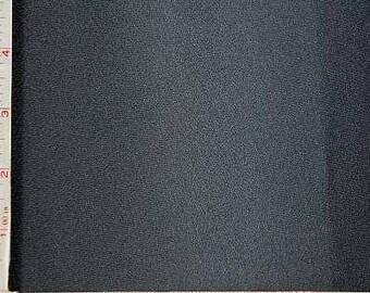 "Black Crepe Fabric 2 Way Stretch Polyester 6 Oz 58-60"" 230715"