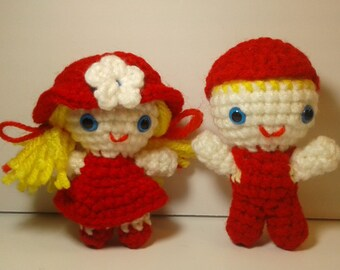 Crochet dolls, Amigurumi dolls