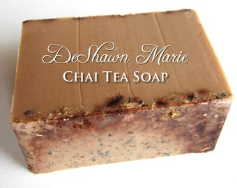3.5 lb Soap Loaf -SOAP -  Chai Tea Vegan Handmade Soap Loaf, Wholesale Soap Loaves, FREE SHIPPING