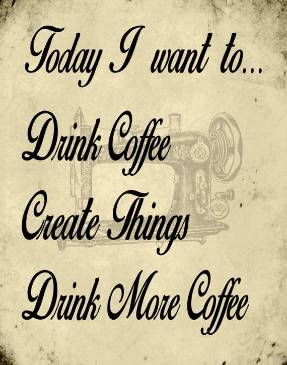 11x14 printable art wall art coffee and create printable