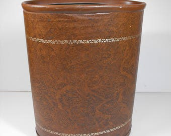 Vintage Office Wastebasket   (1326)
