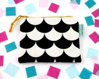Change purse Small makeup zip bag Coin purse for women Small zipper wallet Tea bag storage pouch Teacher gift