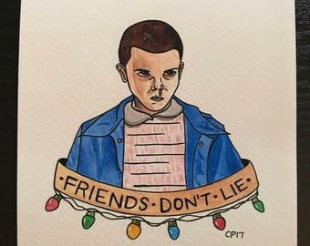 """Stranger Things """"Eleven"""" PRINT"""