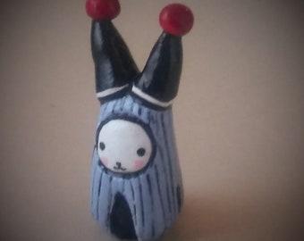 Jester's Bibbit  - Lisa Snellings - Hand sculpted