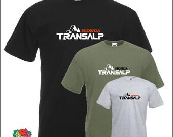 Transalp T-shirt for Honda fans Motorcycle shirt