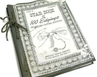 String Bound Star Book of 100 Crochet Edgings | Tatted Edgings | Knitted Edgings