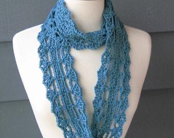PATTERN S-027 / Crochet Pattern / Ella Rae Infinity ... worsted 200 yards