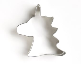 Unicorn Cookie Cutter, Unicorn Head Cookie Cutter, Rainbow Party, Unicorn Sugar Cookies