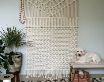 Macrame Wall Hanging, Large Forest