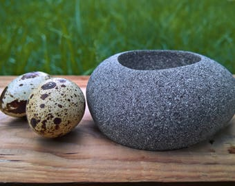 3d printed Granite Egg Holder