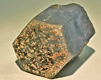 AQUAMARINE CRYSTAL BERYL Mineral Specimen Nigeria 30gms 5.5x5cm XL1