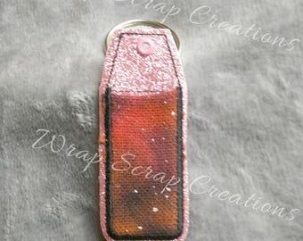 Lip Balm Holder - Wrap Scrap fabric