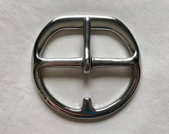 """3"""" Cinch Buckles - Flat Double Bar Stainless Steel"""