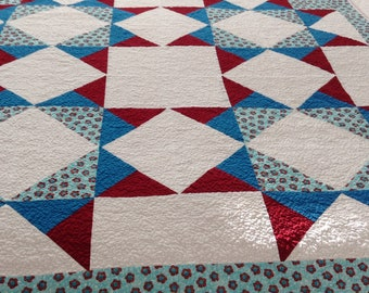 New, handmade baby quilt, Ready to ship