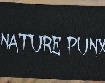 Nature Punx Patch (Black)