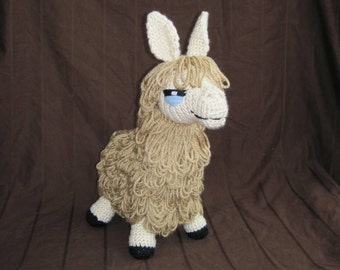 PDF Llama Crochet Pattern - Digital Download - ENGLISH ONLY