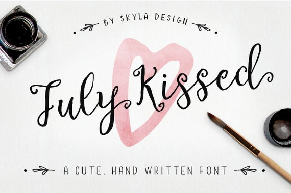 Cute font download cursive font wedding font modern calligraphy