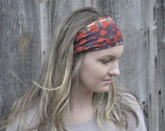 Yoga Headband   Wide Headband   Boho Headband