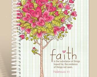 Faith Defined - Hebrews 11:1 / Prayer Journal Personalized