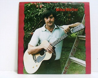 Mike Walter Mr. Pruitts Apple Farm Lp Record Album, Folk Psych Rock Private Label Press