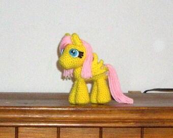 Fluttershy Crochet Plush