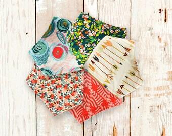 5 Bandana Bibs FREE SHIPPING (The Scarlett Collection) girl bandana bib, baby shower gift, bibdana, baby bandanas, bandana bib, baby gift