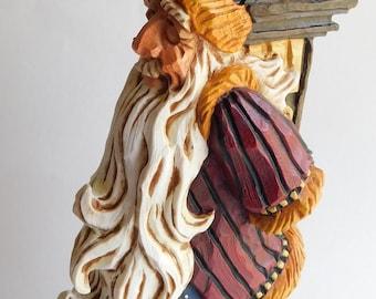 David Frykman Auld Lang Syne 2000 Father Time Santa DF2028 Figurine