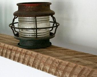 Unique Old Growth Reclaimed Barn Wood Floating Shelf Mantel
