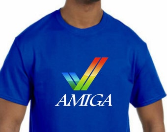 Commodore Amiga T-Shirt New (NWT) *Pick your color & size* - (BBS, 64, VIC-20)