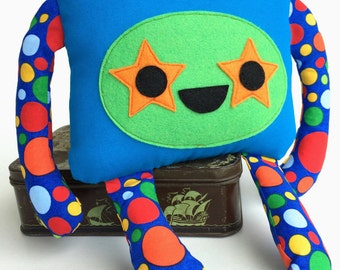 Monster Softie, Stuffed Monster Toy **IMPERFECT**