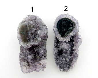 Amethyst Druzy Cabochon - YOu ChOOsE - Perfect for Jewelry Making (RK28B10-28)